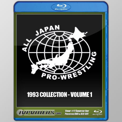 Best of AJPW 1993 V.1 (Blu-Ray with Cover Art)