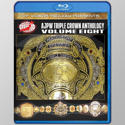 History of AJPW Triple Crown Title V.8 (Blu-Ray with Cover Art)