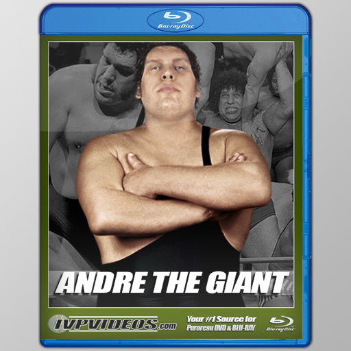 Best of Andre The Giant (Blu-Ray with Cover Art)
