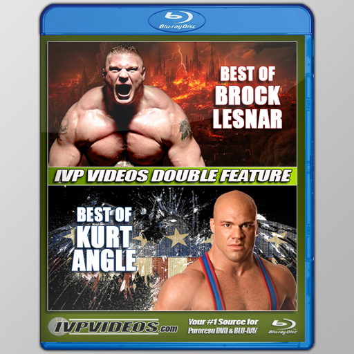 Best of Kurt Angle/Brock Lesnar (Blu-Ray with Cover Art)