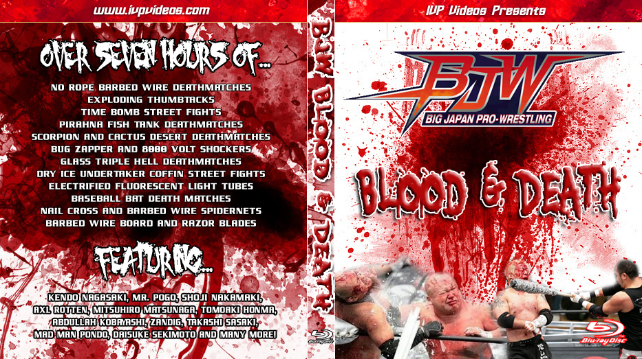 BJPW Blood and Death (Blu-Ray with Cover Art)