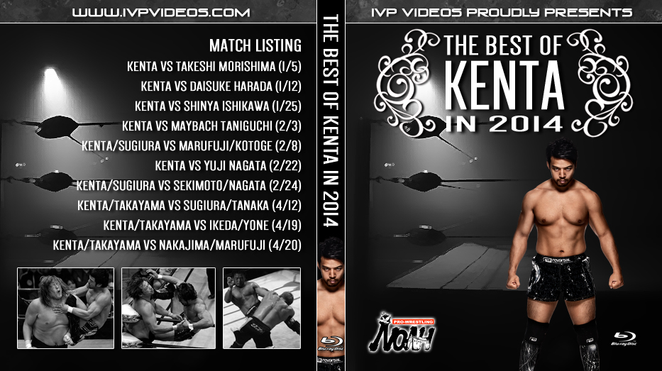 Best of KENTA in 2014 (Blu-Ray with cover art)