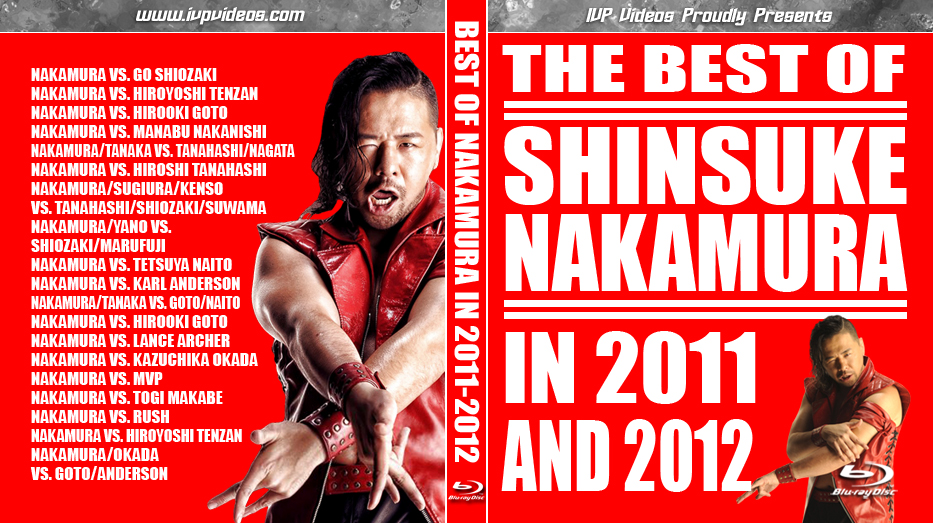 Best of Nakamura (Blu-Ray with Cover Art)