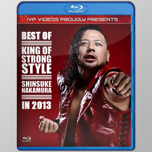 Best of Nakamura in 2013 (Blu-Ray with Cover Art)