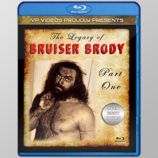 Legacy of Bruiser Brody (Blu-Ray with Cover Art)