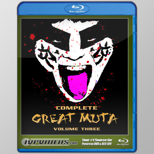 Complete Great Muta V.3 (Blu-Ray with Cover Art)