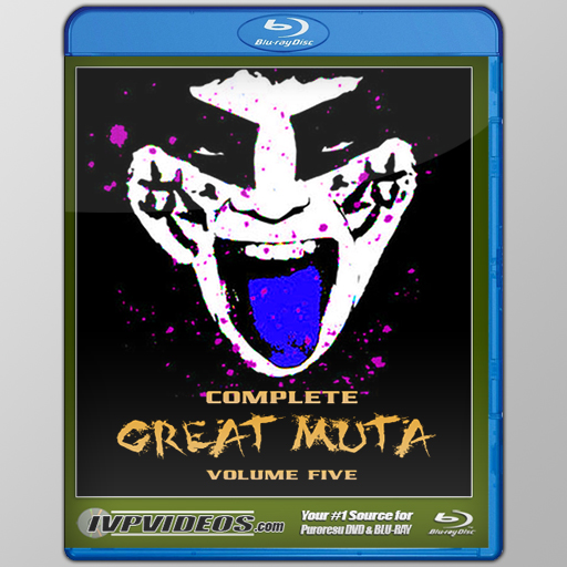 Complete Great Muta V.5 (Blu-Ray with Cover Art)