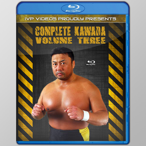 Complete Kawada V.3 (Blu-Ray with Cover Art)