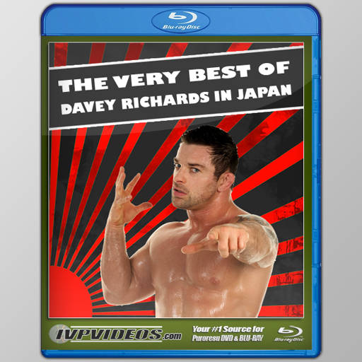 Best of Davey Richards (Blu-Ray with Cover Art)