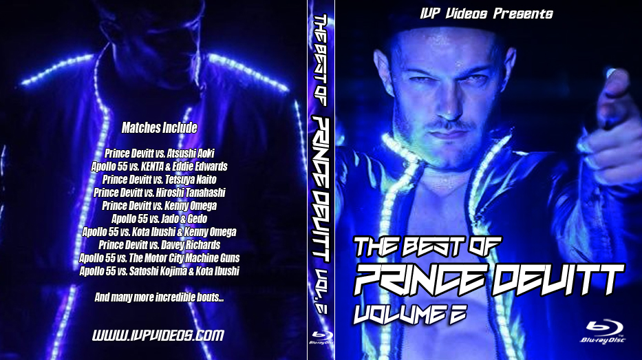 Best of Prince Devitt V.2 (Blu Ray with Cover Art)
