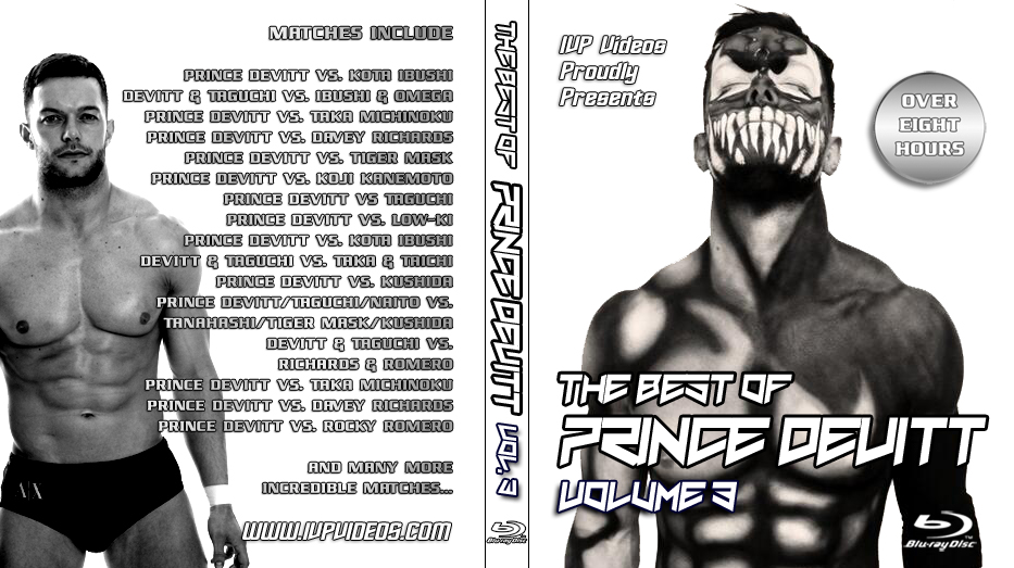 Best of Prince Devitt V.3 (Blu Ray with Cover Art)