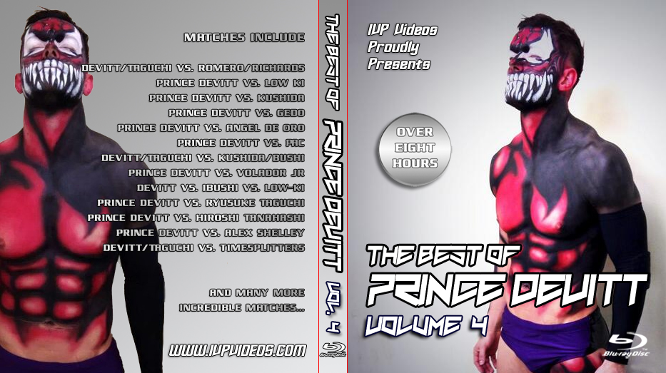 Best of Prince Devitt V.4 (Blu Ray with Cover Art)