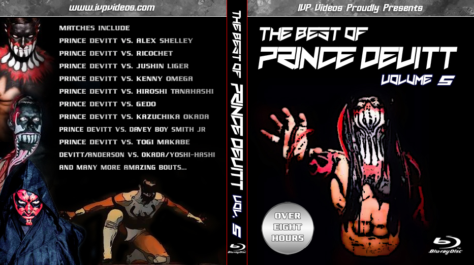 Best of Prince Devitt V.5 (Blu Ray with Cover Art)