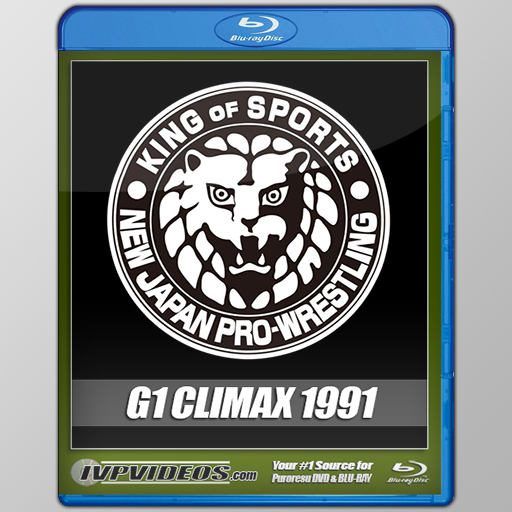 NJPW 1991 G1 Climax (Blu-Ray with Cover Art)