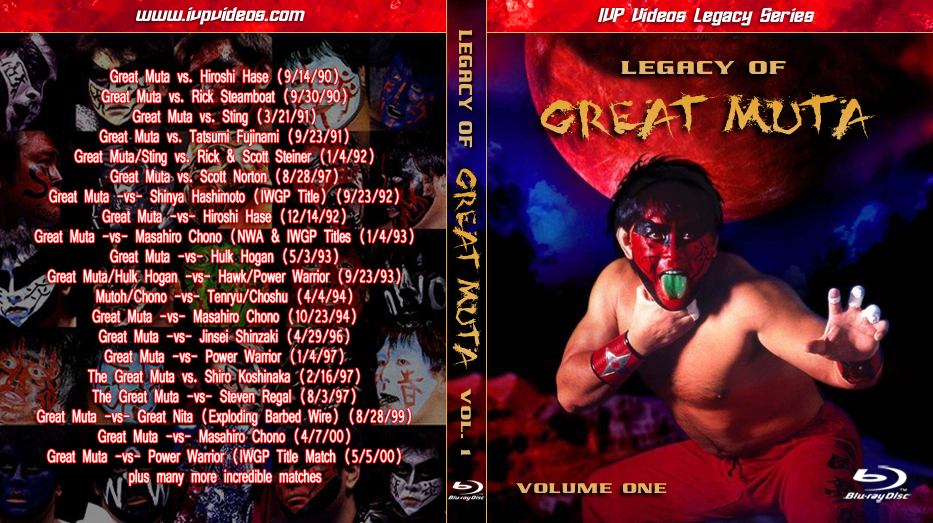Best of Great Muta V.1 (Blu-Ray with Cover Art)