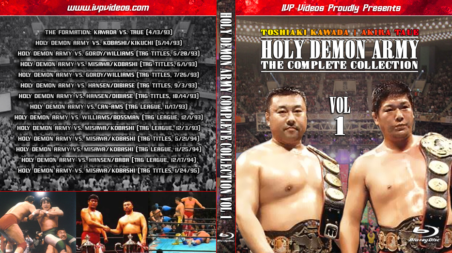 Best of Holy Demon Army V.01 (Blu-Ray with Cover Art)