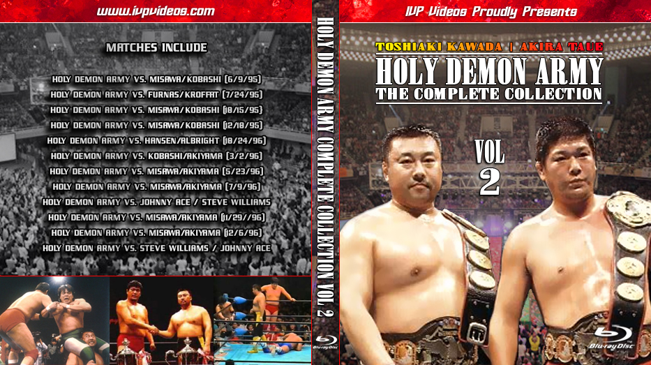 Best of Holy Demon Army V.02 (Blu-Ray with Cover Art)
