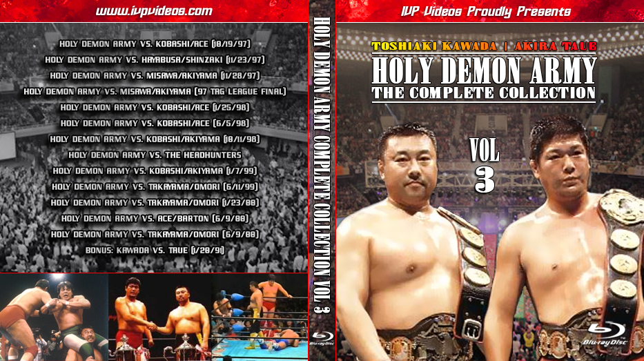Best of Holy Demon Army V.03 (Blu-Ray with Cover Art)