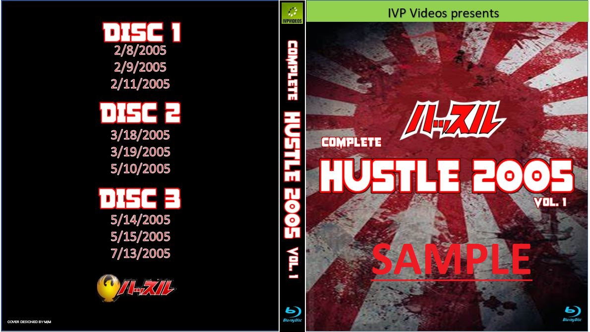 Complete Hustle in 2005 V.1 (3 Disc Blu-Ray with Cover Art)
