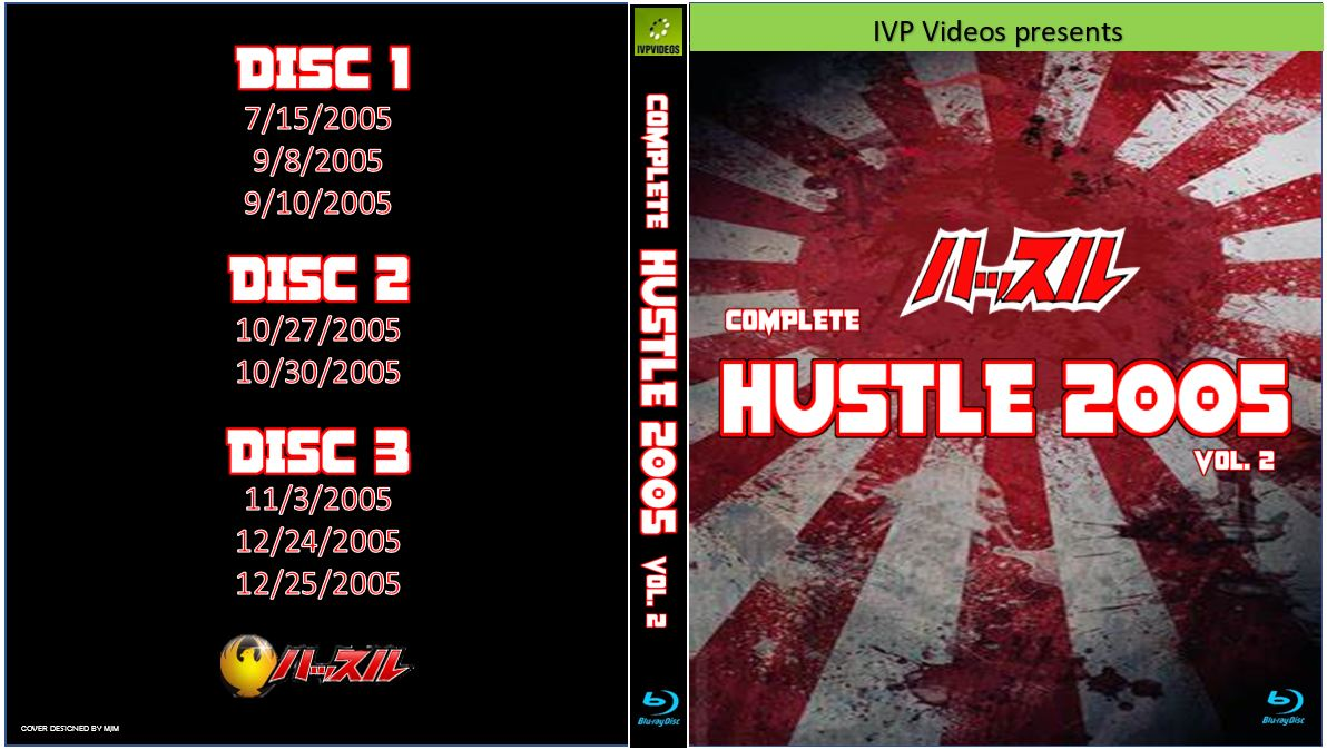 Complete Hustle in 2005 V.2 (3 Disc Blu-Ray with Cover Art)