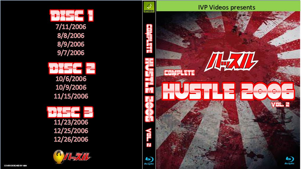 Complete Hustle in 2006 V.2 (3 Disc Blu-Ray with Cover Art)