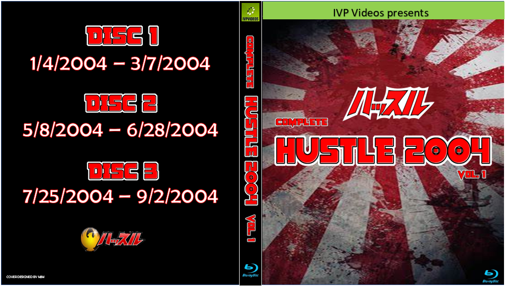 Complete Hustle in 2004 V.1 (3 Disc Blu-Ray with Cover Art)