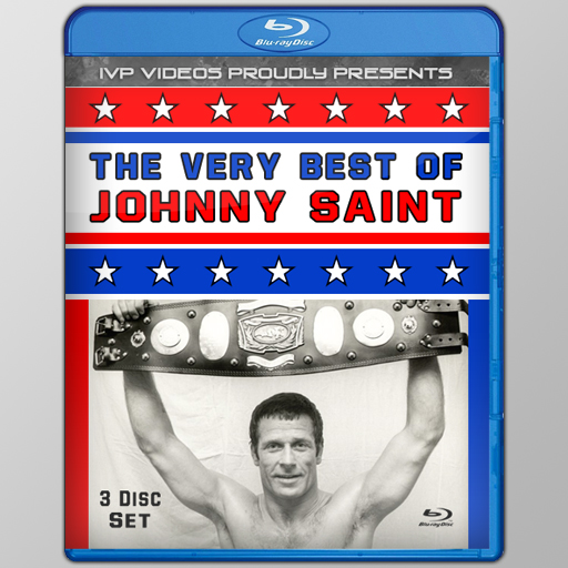 Best of Johnny Saint (3 Disc Blu Ray with Cover Art)
