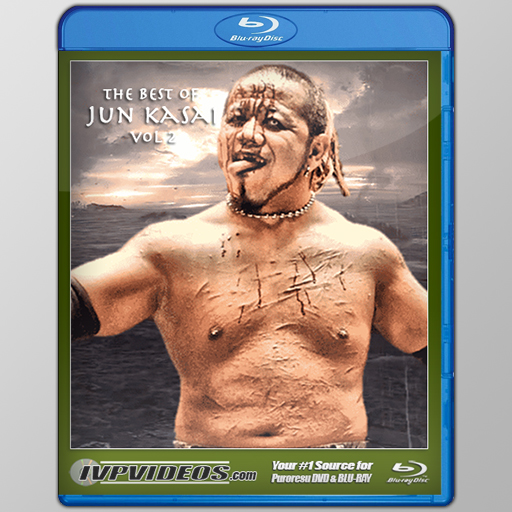 Best of Jun Kasai in BJPW V.2 (Blu-Ray with Cover Art)