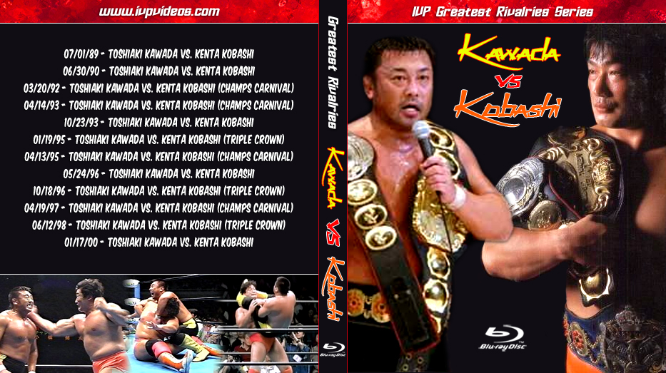 Best of Kobashi vs. Kawada (Blu-Ray with Cover Art)