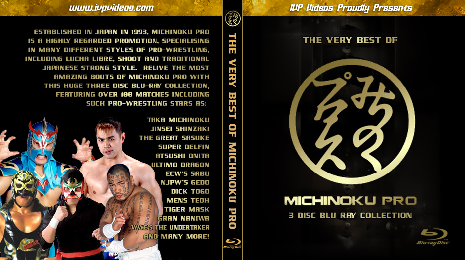 Best of Michinoku Pro (3 Discs Blu-Ray Set)