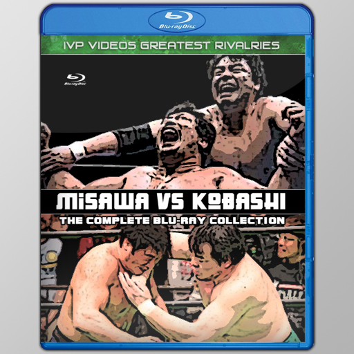 Best of Kobashi vs Misawa (Blu-Ray with Cover Art)