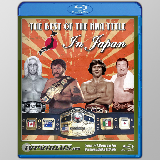 Best of the NWA Title in Japan (Blu-Ray with Cover Art)