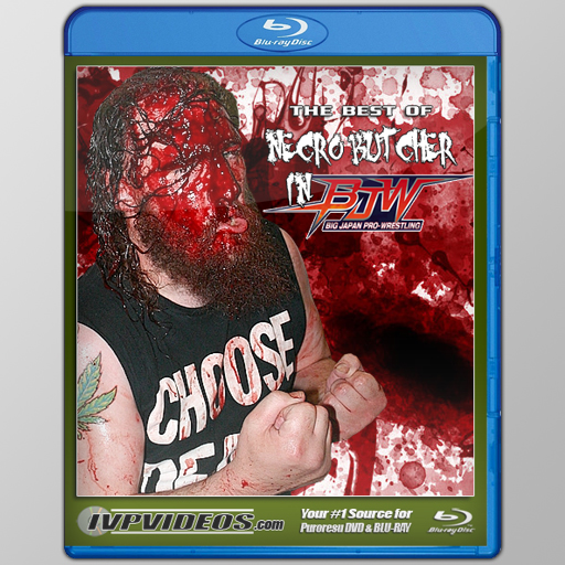Best of Necro Butcher in BJPW (Blu-Ray with Cover Art)