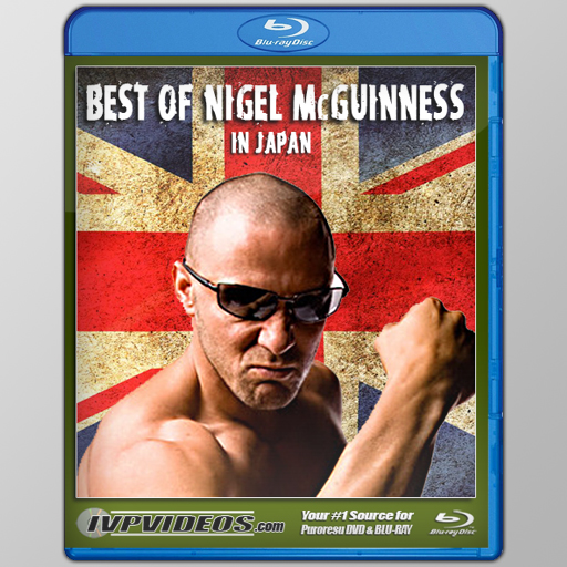 Best of Nigel McGuinness (Blu-Ray with Cover Art)