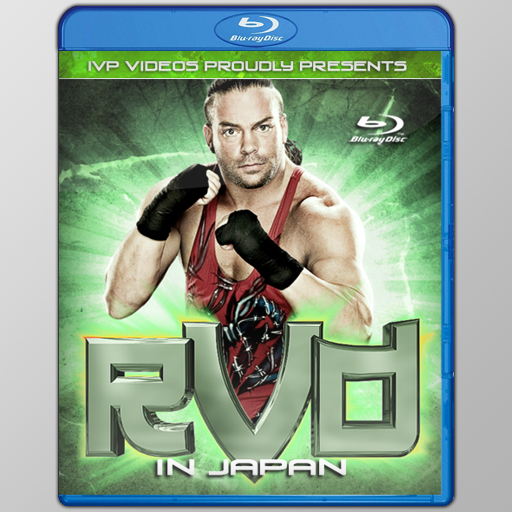 Best of RVD Rob Van Dam (Blu-Ray with Cover Art)