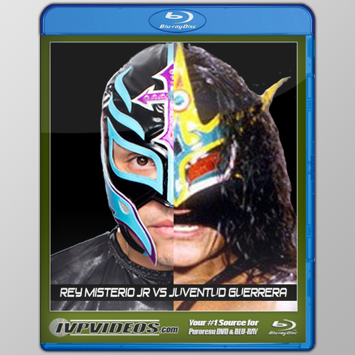 Best of Rey Mysterio vs. Juventud (Blu-Ray with Cover Art)