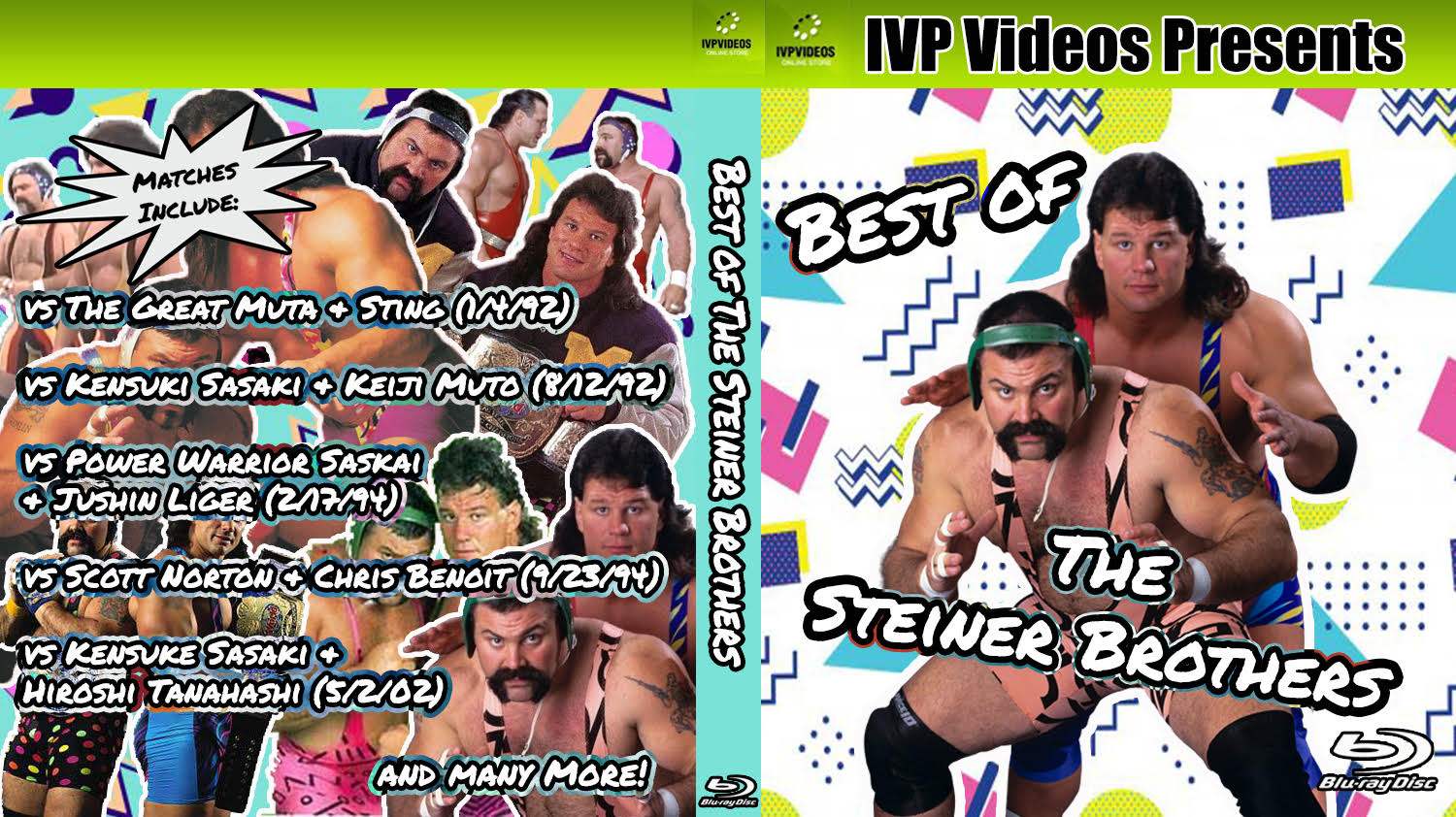 Best of Steiner Brothers (Blu-Ray with Cover Art)