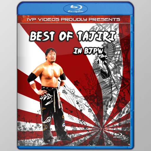 Best of Tajiri in BJPW (Blu-Ray with Cover Art)