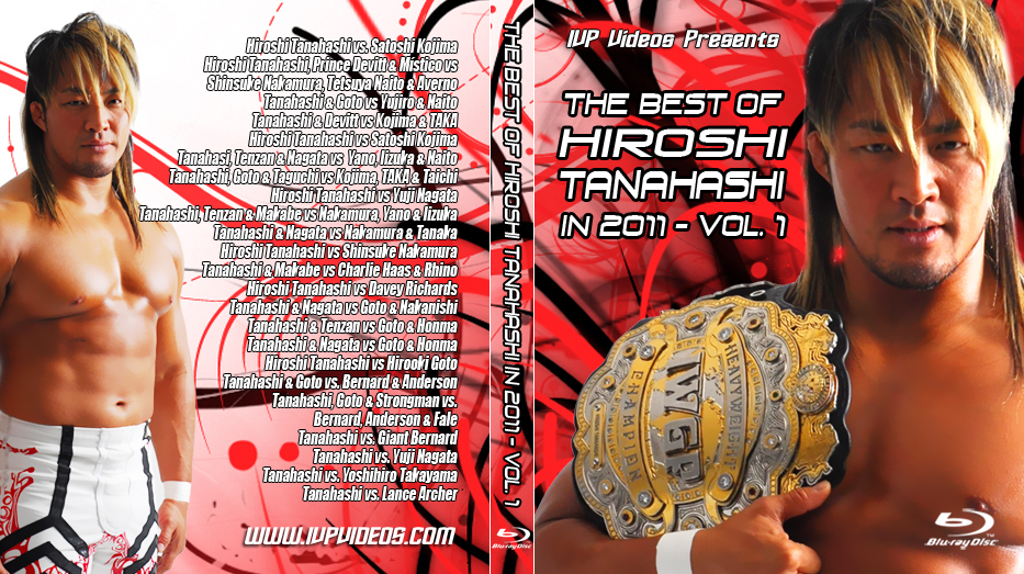 Best of Tanahashi V.1 (Blu Ray with Cover Art)