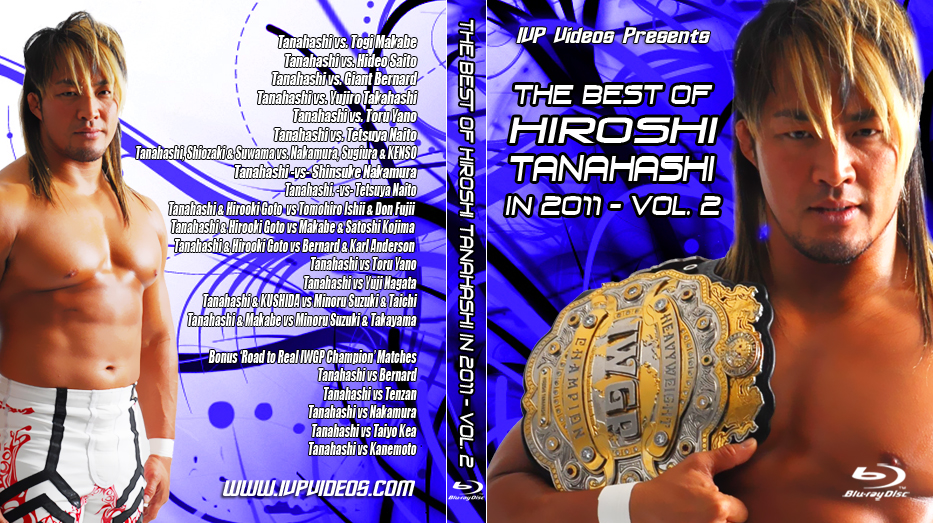Best of Tanahashi V.2 (Blu Ray with Cover Art)