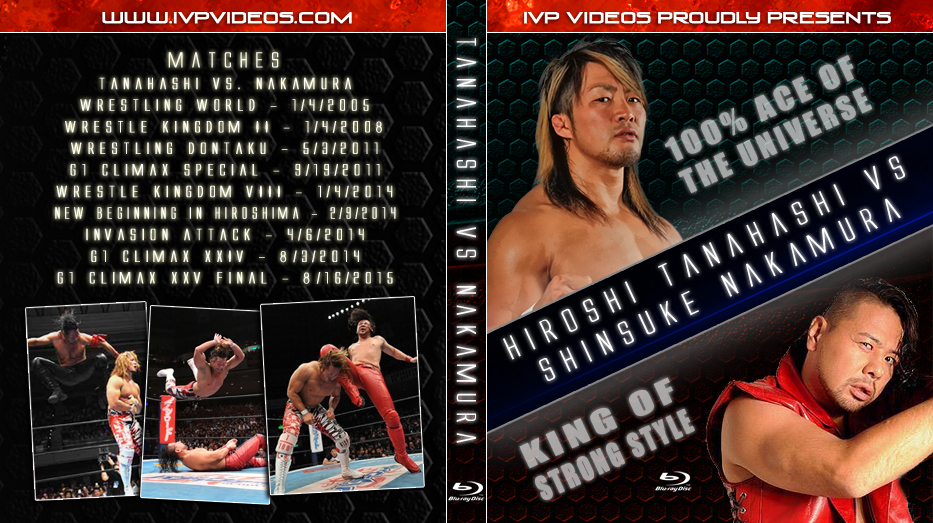 Best of Nakamura vs. Tanahashi (Blu-Ray with Cover Art)