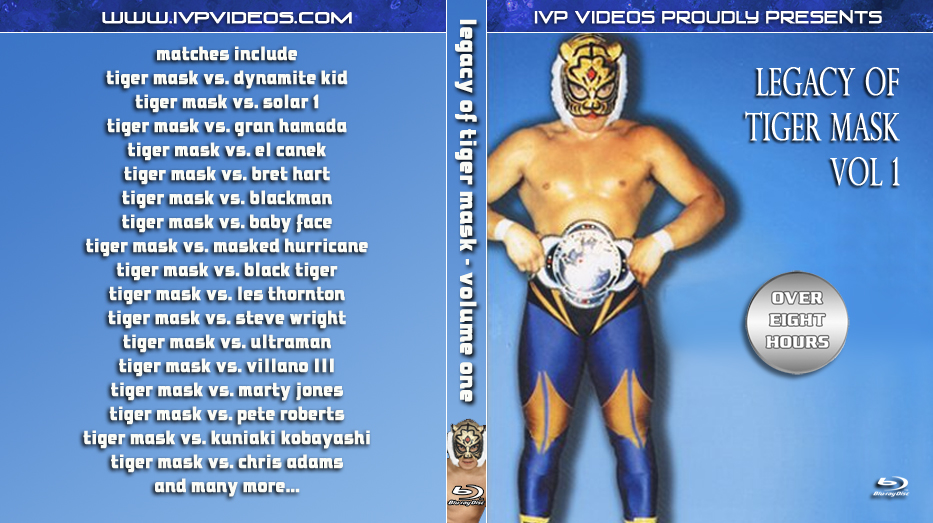 Legacy of Tiger Mask V.1 (Blu-Ray with Cover Art)