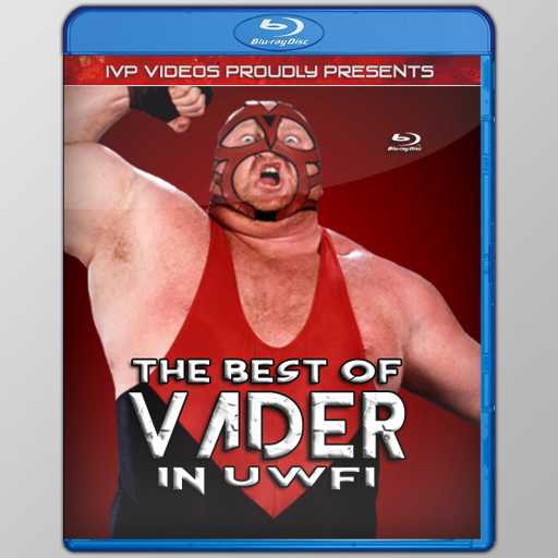 Best of Vader in UWFi (Blu-Ray with Cover Art)