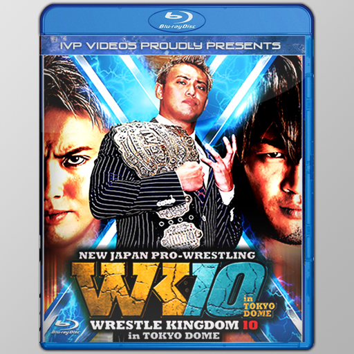 NJPW 01/04/2016 January 4th 2016 (Blu Ray with Cover Art)