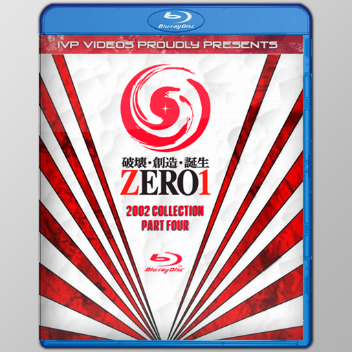 Zero One in 2002 Collection V.4 (Blu-Ray w/ Cover Art)
