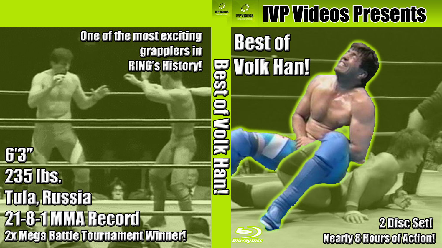 Best of Volk Han (2 Disc Blu-Ray with Cover Art)
