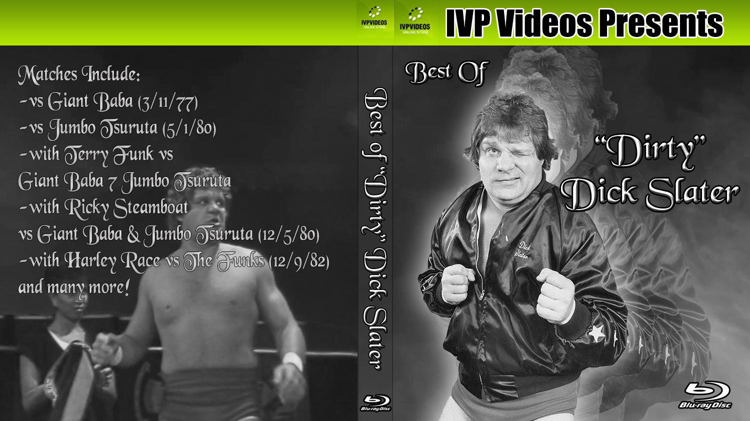 Best of Dick Slater (Blu-Ray with Cover Art)