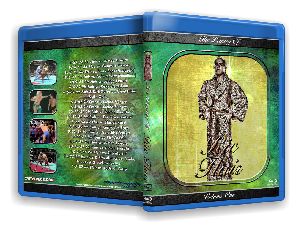 Legacy of Ric Flair V.1 (Blu-Ray with Cover Art)