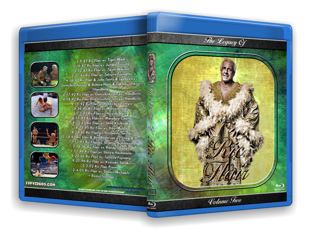 Legacy of Ric Flair V.2 (Blu Ray with Cover Art)