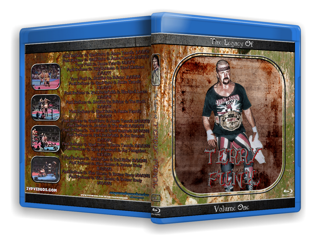 Legacy of Terry Funk V.1 (Blu-Ray with Cover Art)